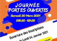 JPO LE SAMEDI 20 MARS 2021 DE 09H30-12H30